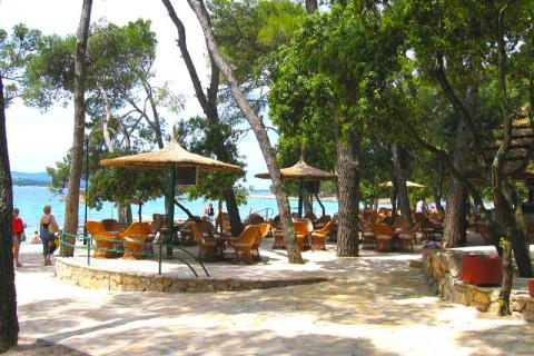 Restaurant na pláži